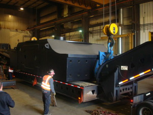 Image of Equipment Being Loaded Up
