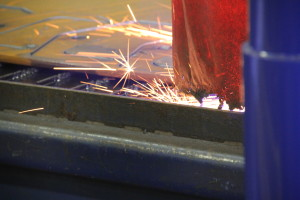 Close Up of Sparks