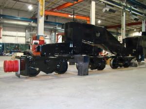Truck Frame for Mobile Gantry Crane