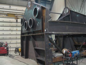 Winch Bed for mineral and oil offshore drilling unit 02
