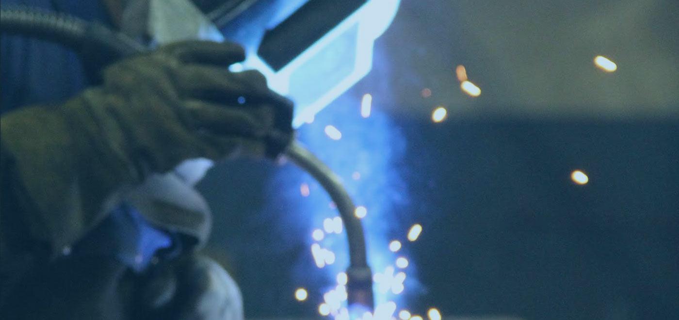 person-welding